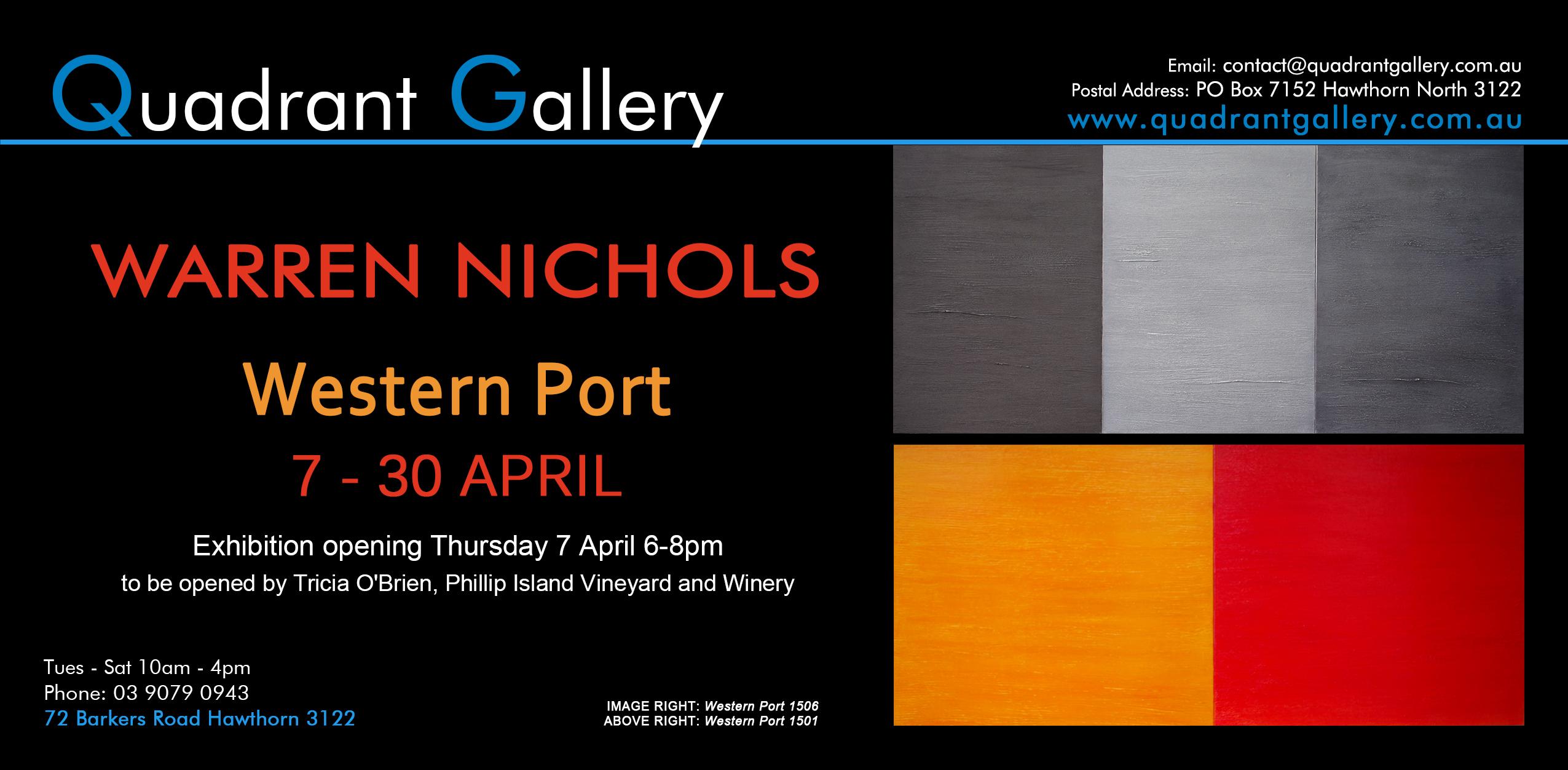Exhibition Invitation_WARREN NICHOLS
