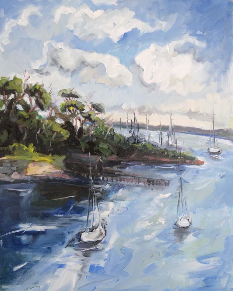 Jolande Anastasi - View to Newhaven