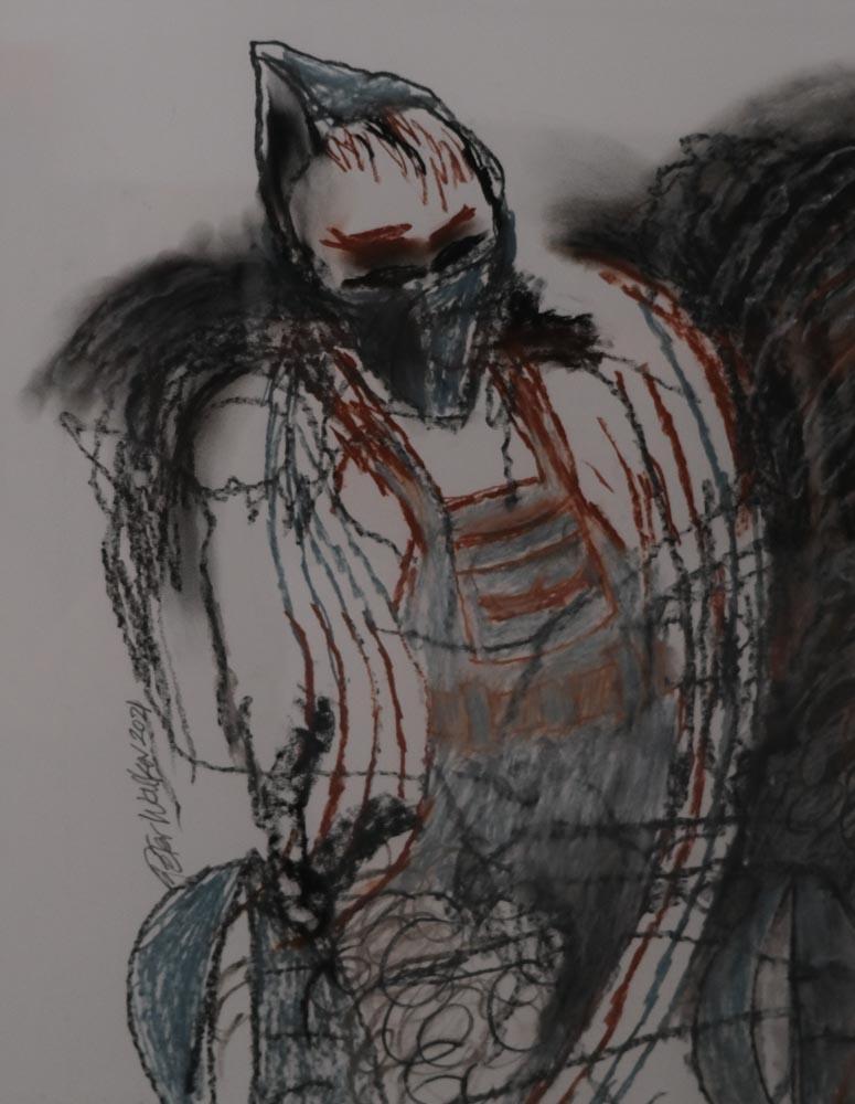 Peter Walker - Masked Covid Yachtsman