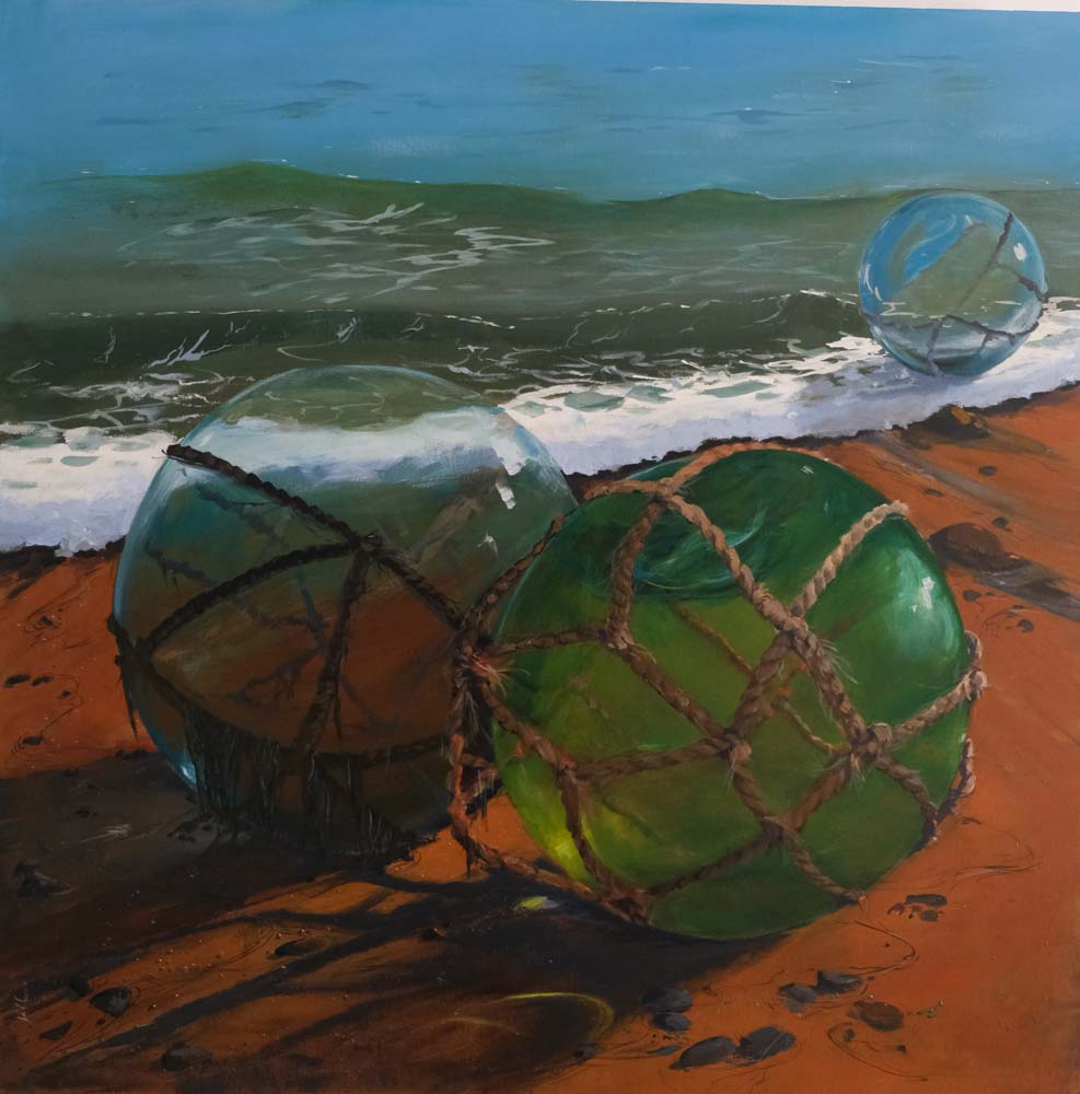 Jill Rogers - Glass Fishing Buoys