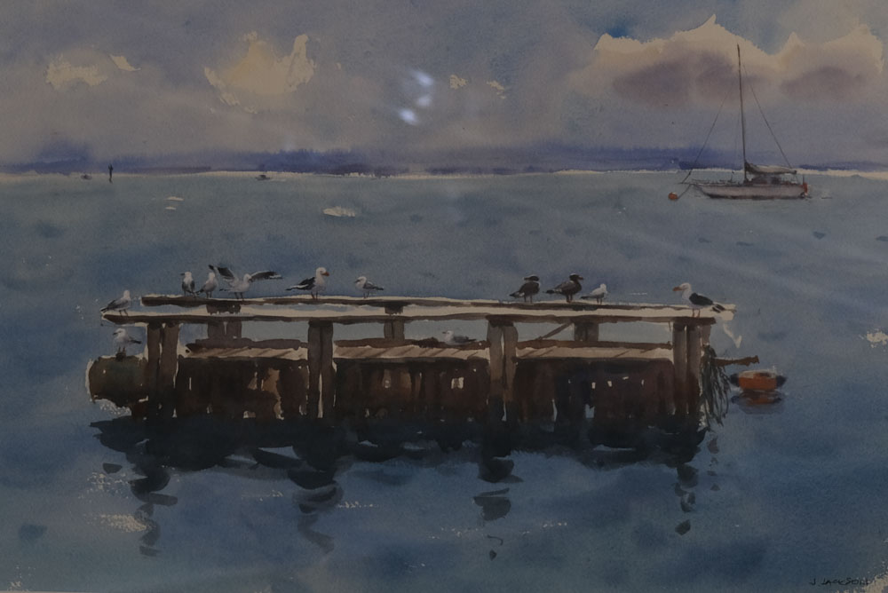 Jenny Jackson - On the raft, Newhaven