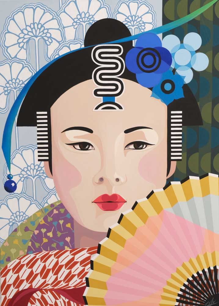 Heather Towns - Rice Paper Fan