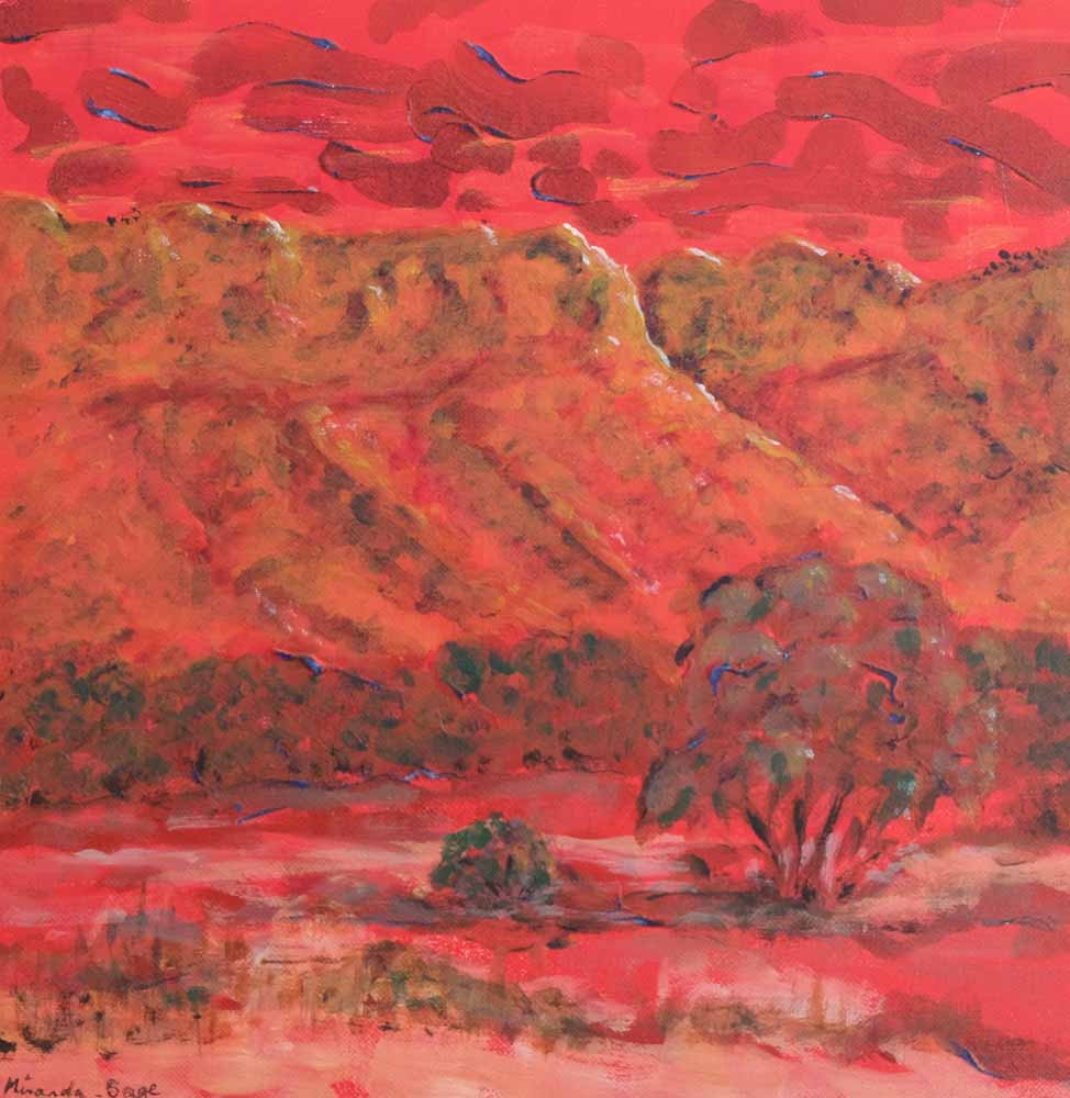 Miranda Sage - Outback Sunset