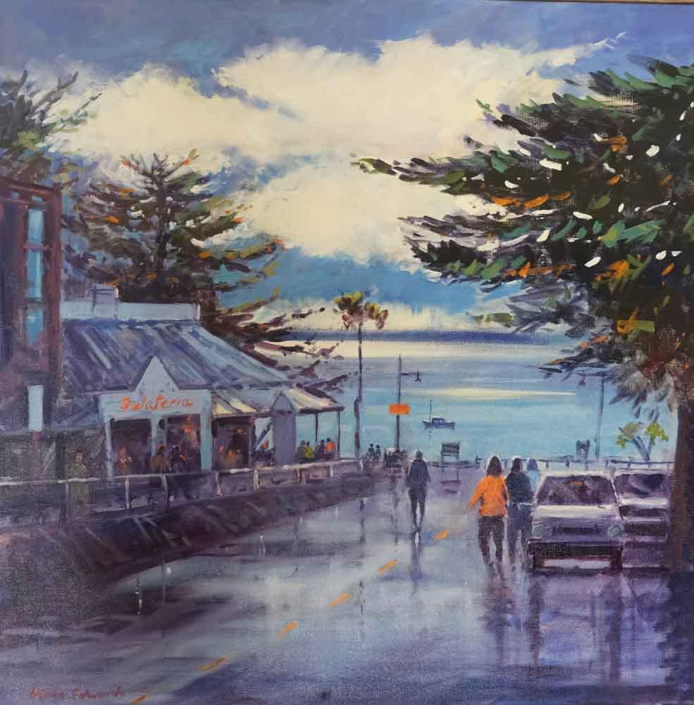 Diana Edwards - Stormy Day, Cowes