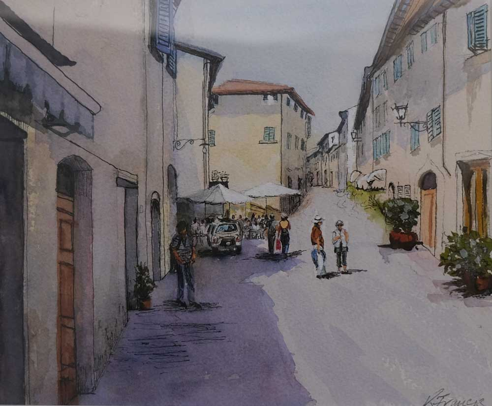 Kerry Francis - Castellina St, Tuscany