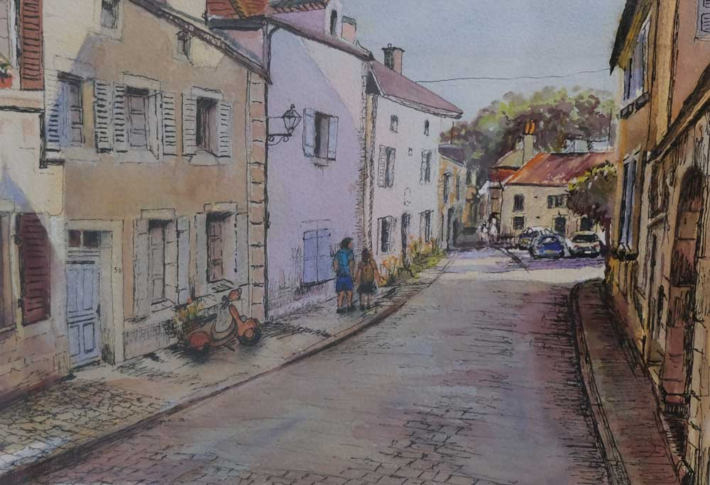 Kerry Francis - Noyers St, France