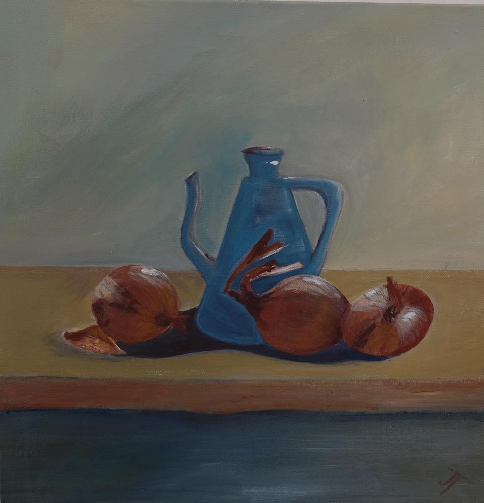 Jan Taylor - Onions with Jug